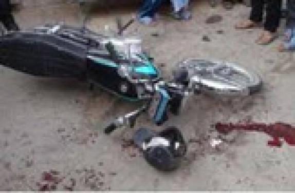باشگاه خبرنگاران -تخطی از سرعت مطمئنه، راكب موتور سيكلت را به كام مرگ فرستاد