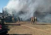 باشگاه خبرنگاران -آتشسوزی انبار کارخانه در یاخچی آباد + فیلم  و تصاویر