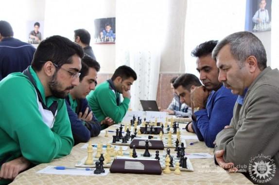 باشگاه خبرنگاران -آغاز هفته دوم لیگ برتر شطرنج در تبریز