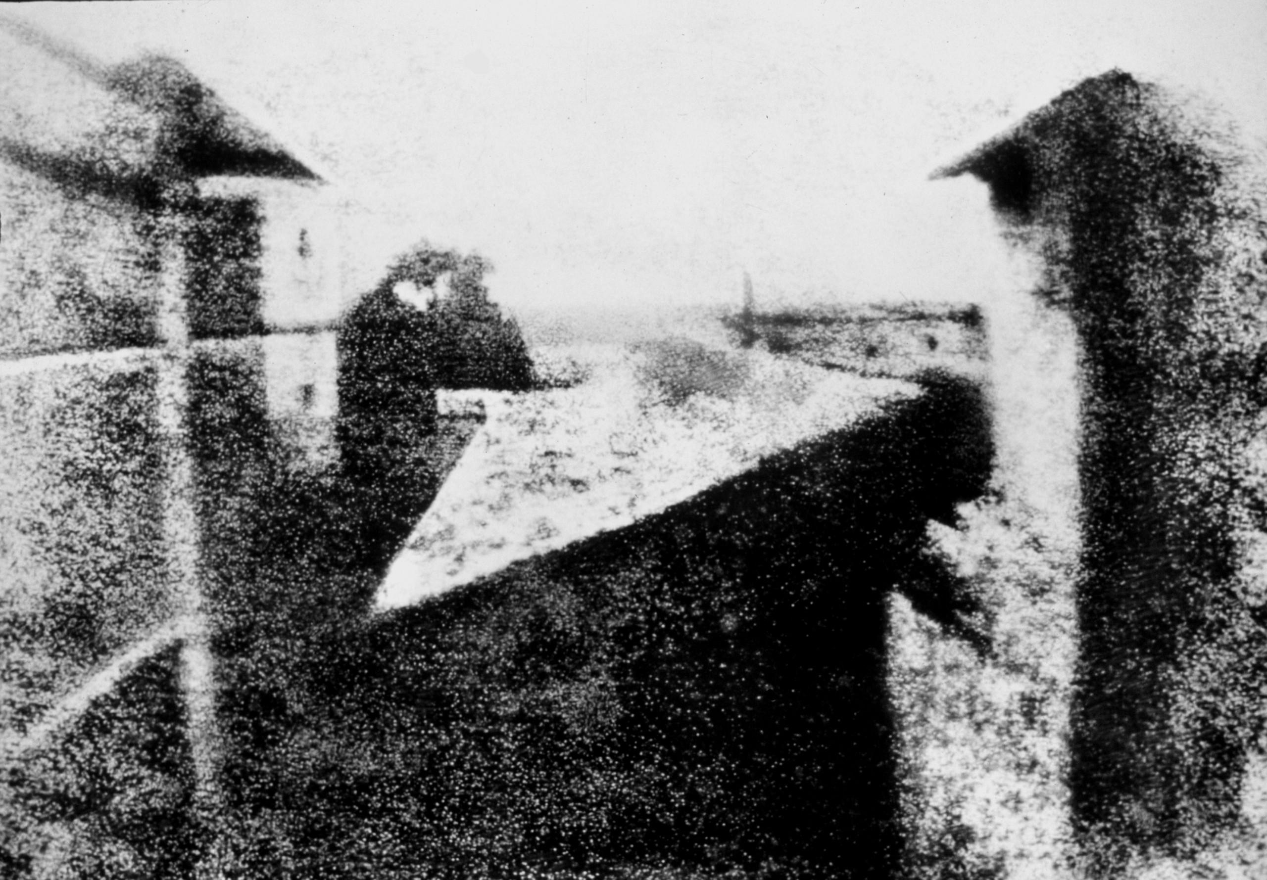قدیمیترین عکس موجود از انسان در کجا گرفته شد؟