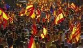 باشگاه خبرنگاران -تظاهرات ضد دولتی ۲۰۰ هزار نفری در بارسلون