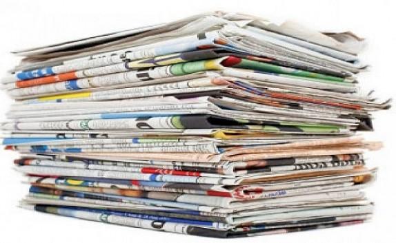 باشگاه خبرنگاران -صفحه نخست روزنامه های استان یزد