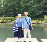 باشگاه خبرنگاران -زوجی که 37 سال است لباسهای ست میپوشند + تصاویر