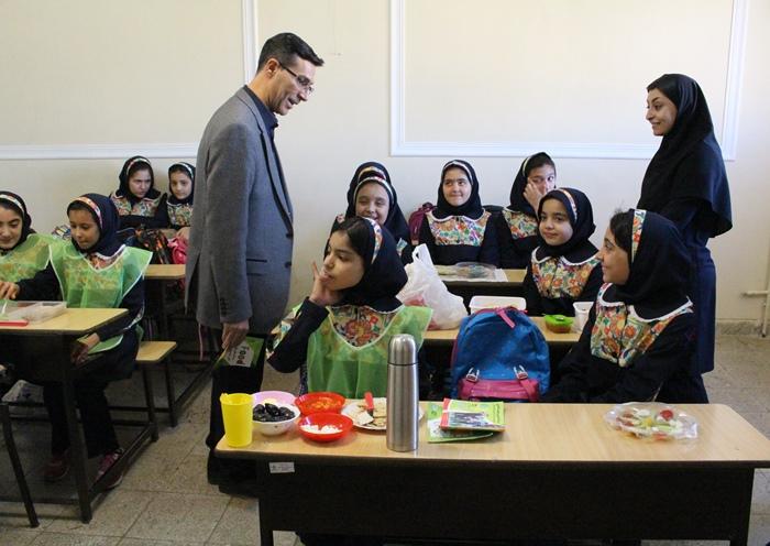 باشگاه خبرنگاران -صبحانه سلامت در مدارس همدان