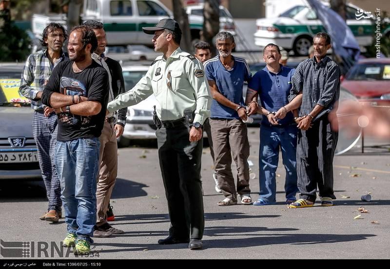 زورگیران تهرانی از چه اسلحههایی استفاده میکنند؟ +تصاویر