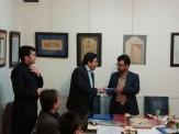 باشگاه خبرنگاران -تجلیل از خوشنویسان فعال ملایر
