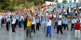 باشگاه خبرنگاران -همایش بزرگ ورزش صبحگاهی در زنجان