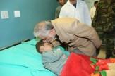 باشگاه خبرنگاران -گزارش تصویری: عیادت «عبدالله» از مجروحین حمله انتحاری پکتیا