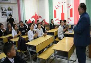 باشگاه خبرنگاران -افزایش علاقمندی به آموزش زبان فارسی در قرقیزستان + فیلم