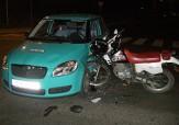 باشگاه خبرنگاران -فرار راکب موتور پس از تصادف وحشتناک با خودرو + فیلم
