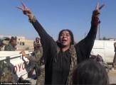 باشگاه خبرنگاران -خوشحالی وصف ناشدنی زنان سوری پس از آزادی رقه +فیلم
