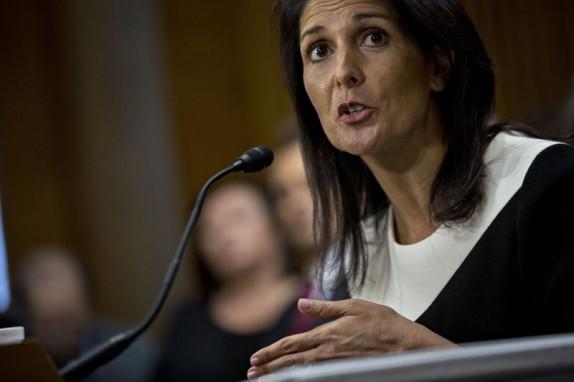باشگاه خبرنگاران -هیلی در پی سنجیدن نظر متحدان آمریکا در قبال راهبرد واشنگتن درباره ایران است