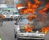 باشگاه خبرنگاران -کشته و زخمی شدن 3 نفر در برخورد 2 پراید/یکی از خودروها طعمه حریق شد