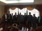 باشگاه خبرنگاران -دیدار خادم با معاون وزیر ورزش تاتارستان روسیه در راستای توسعه کشتی