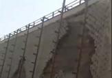 باشگاه خبرنگاران -وضعیت نامناسب پل در جاده اهواز - ماهشهر + فیلم
