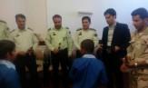 باشگاه خبرنگاران -دیدار دانش آموزان کم توان ذهنی با پلیس