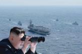 باشگاه خبرنگاران - رزمایش ناو یواساس رونالد ریگان آمریکا در آبهای شبه جزیره کره+ تصاویر