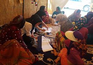 ارائه خدمات بهداشتی درمانی به کوچ نشینان آباده