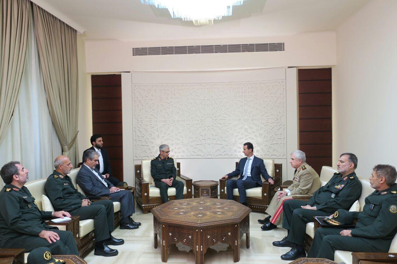 قدردانی بشار اسد از حمایتهای ملت و رهبری ایران