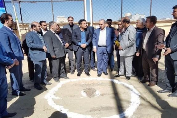 باشگاه خبرنگاران - احداث ساختمان جدید هیئت فوتبال همدان