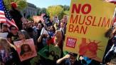 باشگاه خبرنگاران - واشنگتن؛ صحنه تظاهرات علیه فرمان ضدمهاجرتی ترامپ