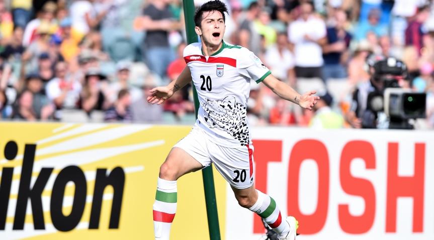 سردار در بین بازیکنان منتخب 23 تیم راه یافته به جام جهانی
