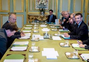 درخواست مکرون از آمانو برای تضمین اجرای دقیق مفاد توافق هستهای ایران,