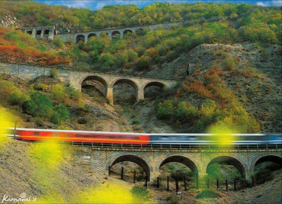 تصاویر زیبا از پل تاریخی ورسک