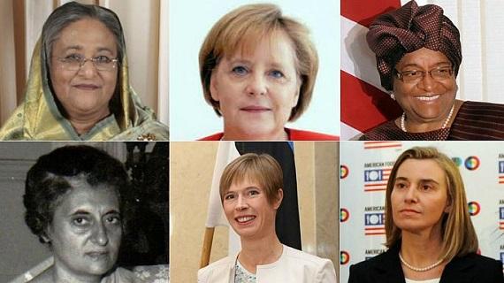 نتیجه تصویری برای حقایقی جالب درباره کشورهایی که زنان زمام قدرت را در دست دارند