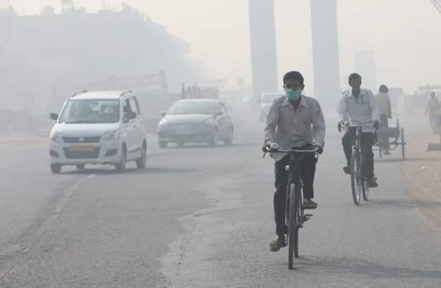 باشگاه خبرنگاران -آلودگی هوا در دهلی نو یازده برابر بیش از حد مجاز است