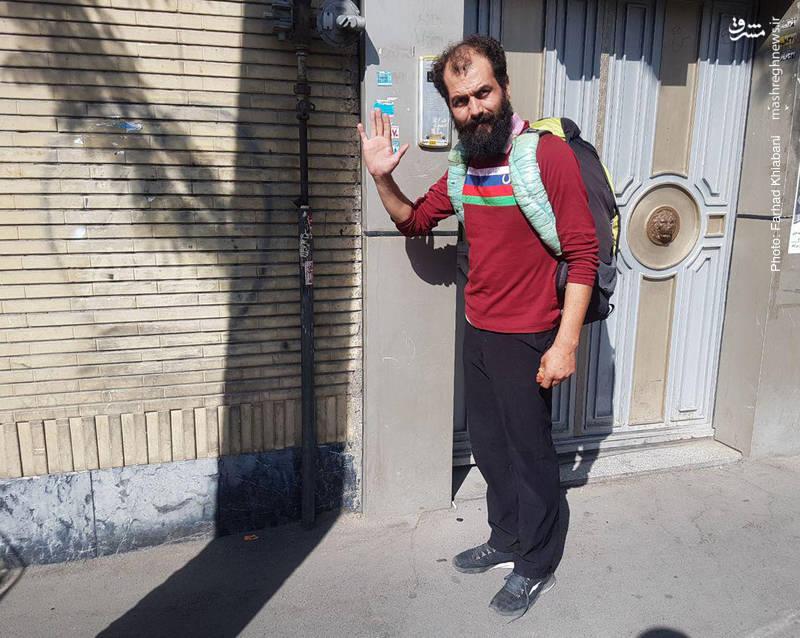 این مرد 18 بار پیاده به کربلا رفته است+عکس