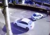 باشگاه خبرنگاران -حادثه تلخ برای عابر پیاده روی ریل راه آهن + فیلم