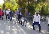 باشگاه خبرنگاران -ورزش صبحگاهی دوچرخه سواران در اصفهان + فیلم