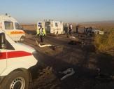 باشگاه خبرنگاران - سه کشته و 9 زخمی بر اثر واژگونی خودرو 405 + عکس