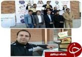 باشگاه خبرنگاران -درخشش راننده قزوینی در مسابقات اسلالوم