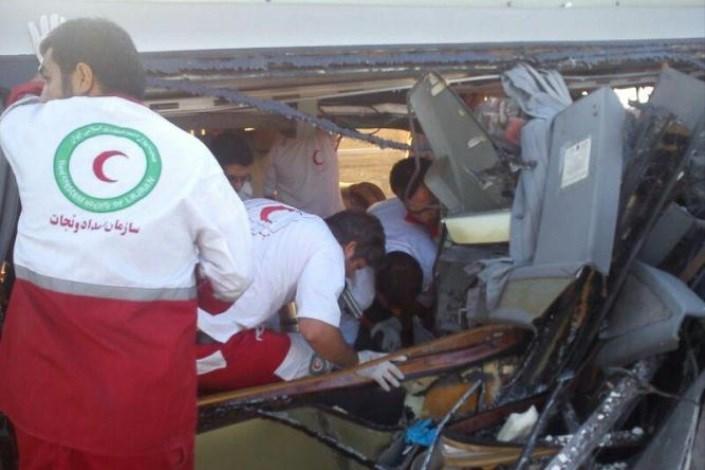 نجات 77 مصدوم در سوانح ترافیکی طی 72 ساعت گذشته