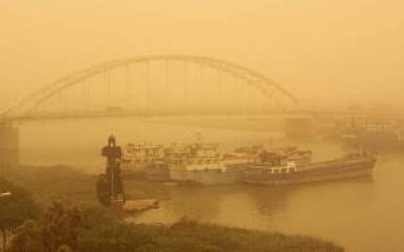 باشگاه خبرنگاران -هراس خوزستانی ها از غول گرد و خاک در زمستان