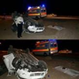 باشگاه خبرنگاران -مرگ دختر خردسال بر اثر واژگونی خودرو در جاده مبارکه