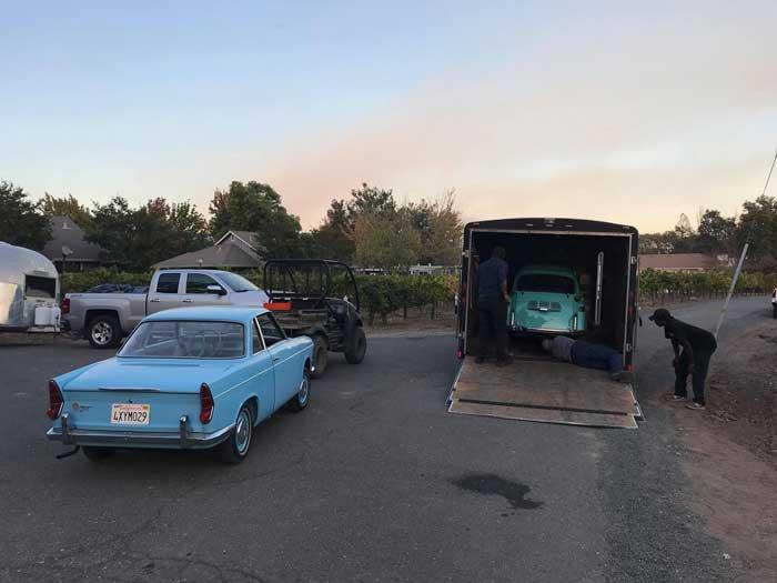 این BMW های آنتیک از آتش نجات یافتند +تصاویر