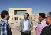 باشگاه خبرنگاران -وضعیت پروژه ساخت کتابخانه مرکزی یزد بررسی شد