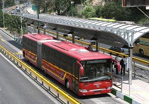 سخنگوی دیجیتال اعلام موقعیت در همه اتوبوس های بی آر تی نصب میشود