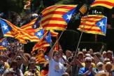 باشگاه خبرنگاران -تظاهرات اعتراضی جداییطلبان کاتالونیا در بارسلون