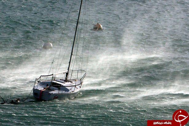 وقوع طوفان سهمگین بریان، انگلیس را به هم ریخت + فیلم و تصاویر