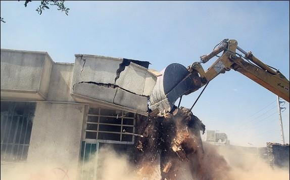 باشگاه خبرنگاران - تخریب منازل محل تجمع خرده فروشان و معتادان در اهواز