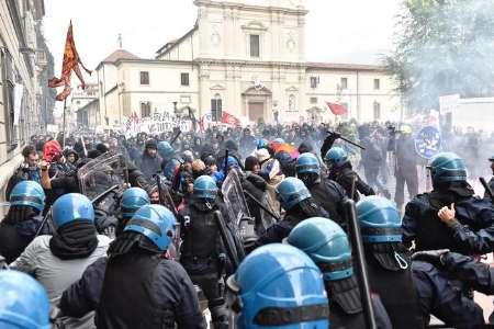 باشگاه خبرنگاران -تظاهرات ضدنژادپرستی در ایتالیا