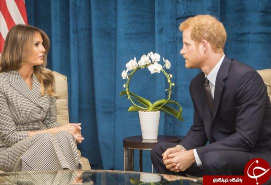 چرا این عکس ملانیا ترامپ و نوه ی ملکه انگلیس جنجال برانگیز شد؟+ تصاویر