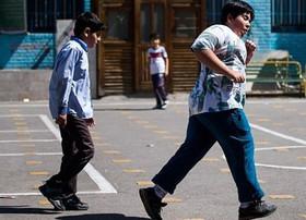 عارضه چاقی در دانش آموزان