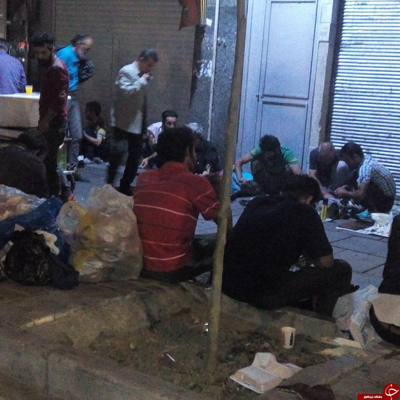 تصاویری دردآور از جولان معتادان در منطقه هرندی