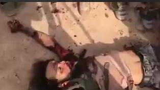 درس عبرت سنگین سپاه بدر به داعشیها + فیلم