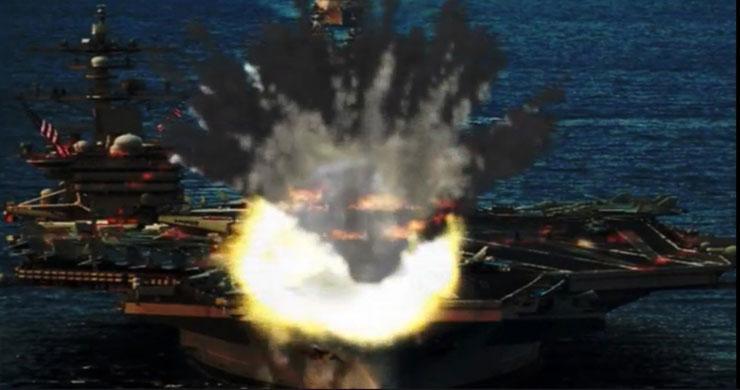 تبلیغات کوبنده کره شمالی علیه بمب افکنها و حملات هواپیماهای آمریکایی
